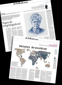 krant, diktators